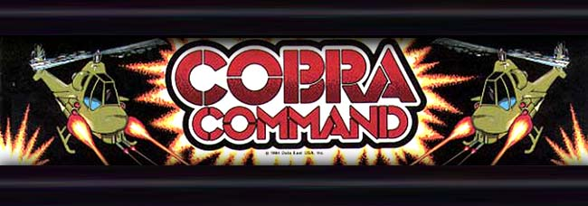 Cobra Command Arcade Fmv World